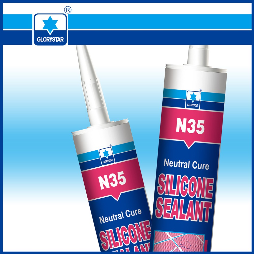 N35 metal to concrete sealant/marble mastic adhesive