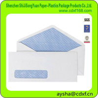 White Security Window Priting Paper Envelope