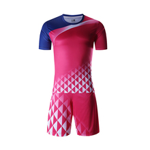 Sublimation uniform top quality soccer jersey football shirt manufacturer made football shirt no logo