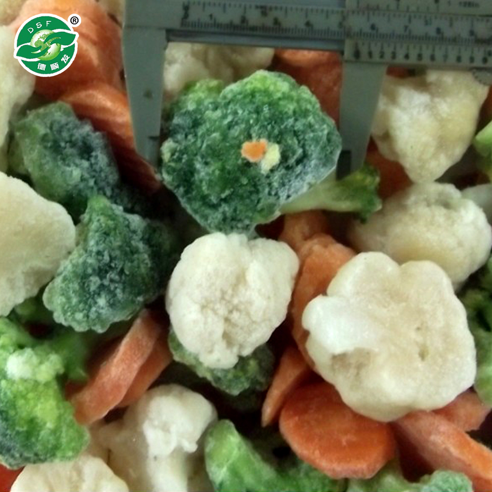 IQF frozen mixed vegetables price
