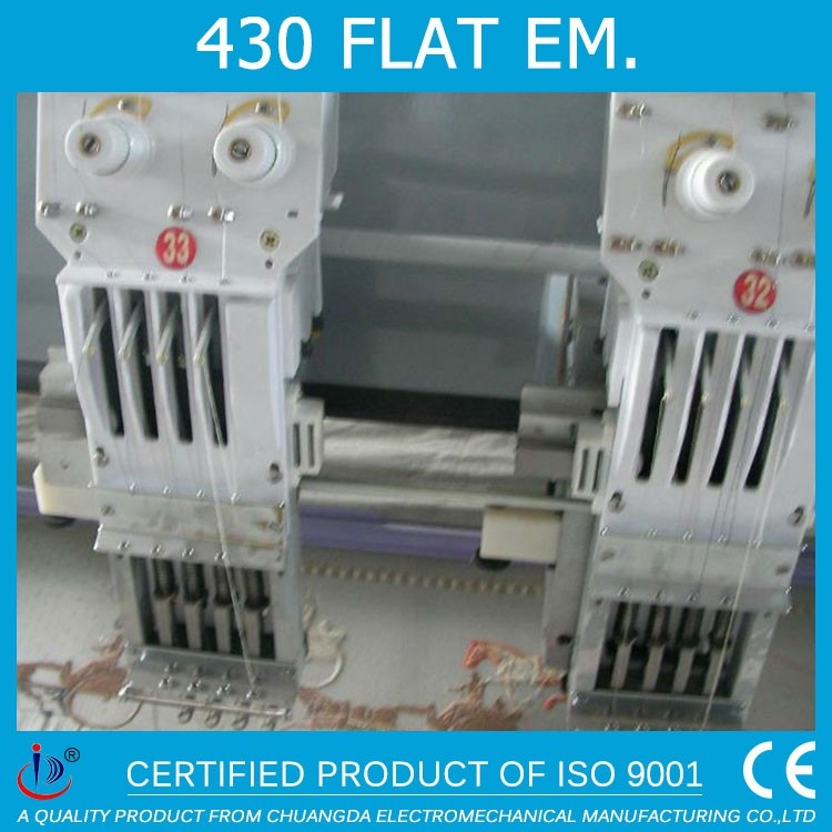 430 PROFESSIONAL FLAT TRIMMER COMPUTERIZED 30HEADS DAHAO CHINA EMBROIDERY MACHINE SPARE PARTS