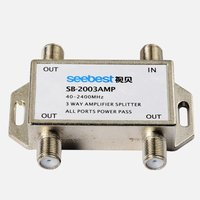 3 way Satellite amplifier splitter active splitter 5-2300MHz