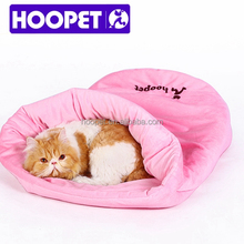 Hoopet new arrival pink cat sleeping bag princess bed
