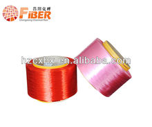 Dope dyed polyester yarn FDY the most important producer in China 100% polyester fiber 300D/96F FDY for hand knitting