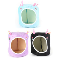 NEW Hot Sale 2 Sizes Cute Hammock for Ferret Rabbit Rat Hamster Parrot Squirrel Hanging Bed Pet Toy House