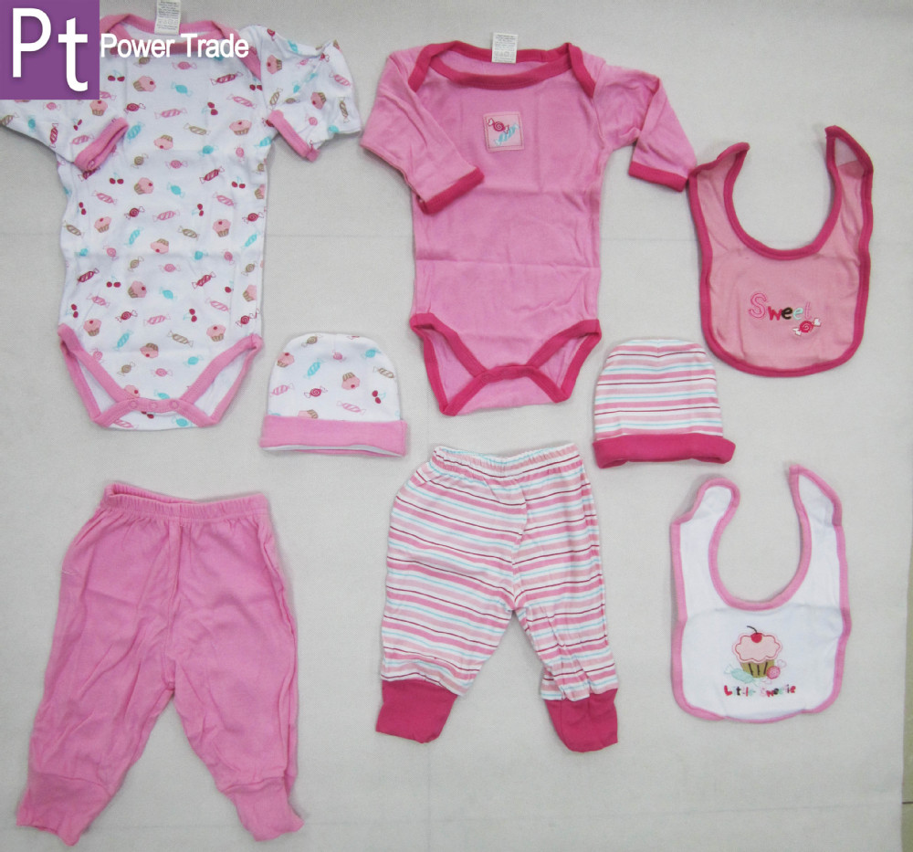 Newborn Baby Clothes Gift Set Wear Infant Garment New Born