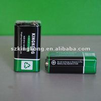 6F22 9V Zinc chloride heavy duty dry battery