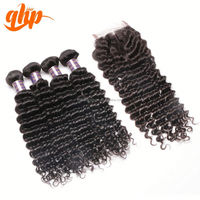 QHP Natural Short Hair Styles Weaves