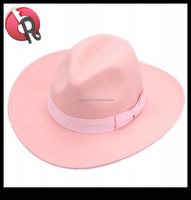 fashion ladies women cowgirl hat pink and light blue