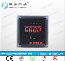 simple schematic diagram Frequency Meter Panel Digital Display Hz Meter