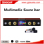 Android bluetooth WiFi Multimedia 2.1 Sound bar with Aux Microphone for TV