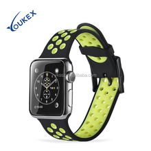 2017 Wholesale Apple Watch Band Silicone, Replacement Strap for Apple Watch Series 1 and Series 2
