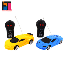 best selling rc hobby model 2ch remote control realistic toy car for kids 3 years