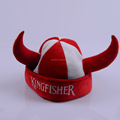 Worldcup football fan viking hat for sport fan