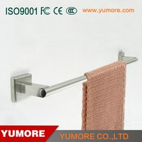 Metal ladder style wall mounted sliding bathroom towel holder