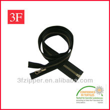 Long Chain Metal Zip