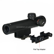 Compact 4x22E optical rifle scope with light/tactical illuminated airsoft hunting rifle scope