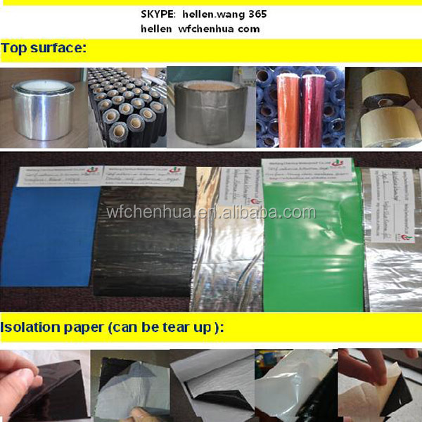 3m felt tape, waterproof sheet, roofing materials - China factory direct sales