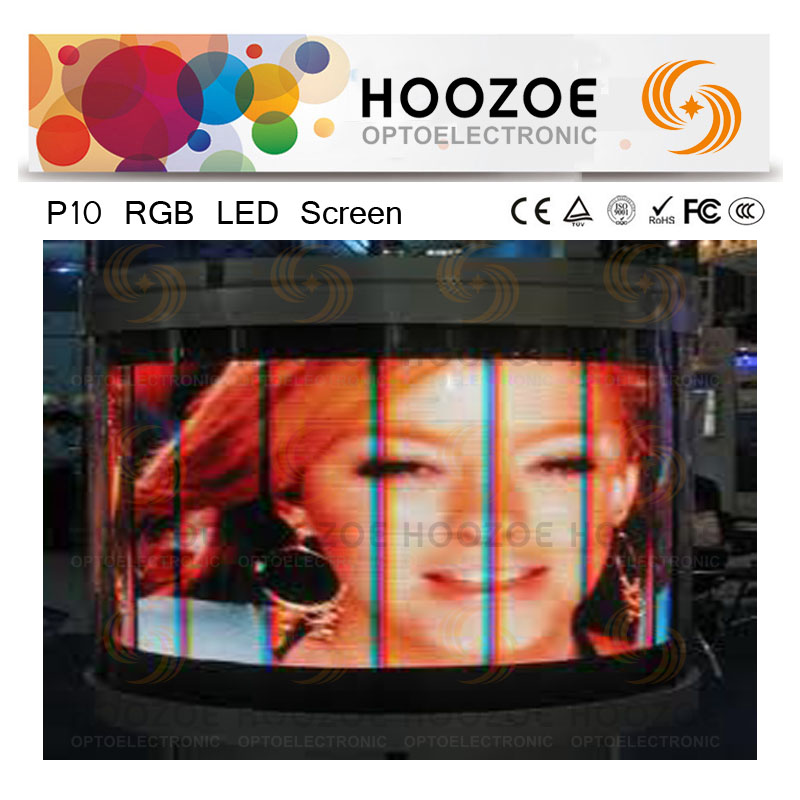 Canada P10 LED Curtain Video Screen for Outdoor