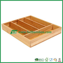 FB5-1006 bamboo Kitchen Cabinet Cutlery Tray storage drawer