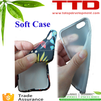 Wholesale 3D Blank Sublimation Phone Cases For iPhone, For iphone 4 5 5c 6 6plus Case Sublimation soft