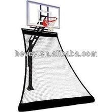 basketball rolling back net