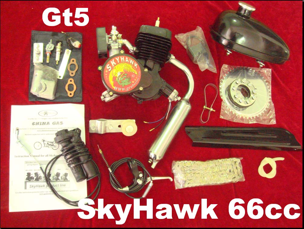 SkyHawk bike engine kit 48cc & 66cc