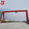 MH Model TrussType small Electric Hoist Single Beam Gantry Crane