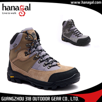 Wholesale Outdoor action trekking rock climbing shoes / hiking shoes cheap mens sports running shoe brand 2017
