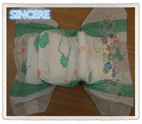 Hot selling soft breathable baby diapers for sleepy