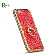 Wholesales 3D Back Cover Soft TPU Luxury Diamond Shiny Bling Phone Case for iPhone 7