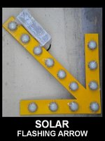 SOLAR FLASHING ARROW