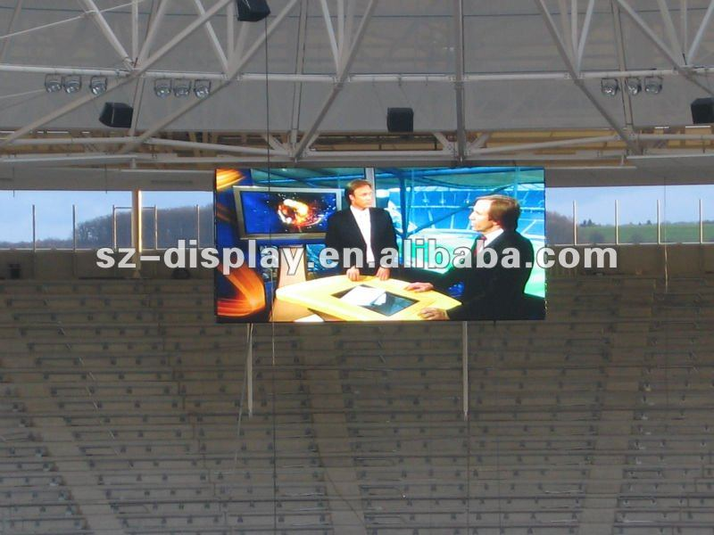 stadium led screen P12 RGB with soft mask japanese video free