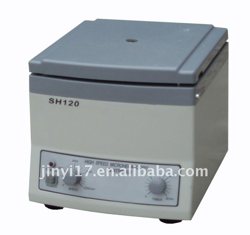 SH120 Benchtop High Speed Microhaematocrit Centrifuge CE, ISO