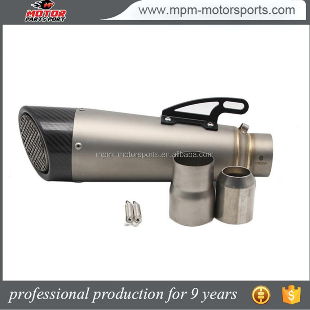 Stainless steel exhaust muffler pipe for Honda cbr 500 cbr 250rr motorcycle