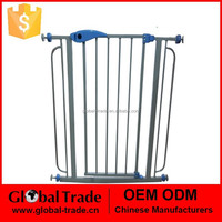 Baby Safety Gate Play Yard Fence Metal 6 Panels Dog Pet Gates H0236