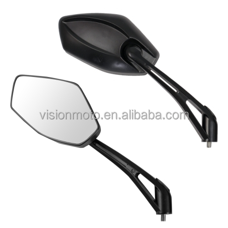 high quality black carbon Motorcycle Mirrors