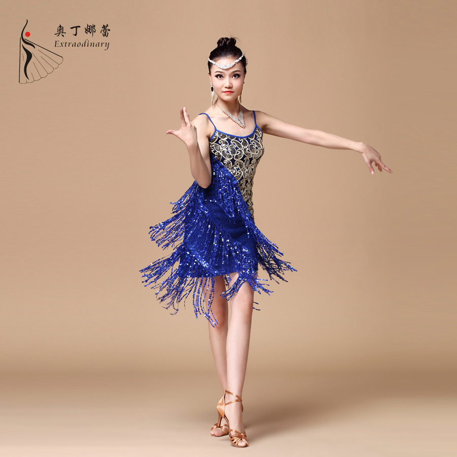L01180 new arrival latin dance dress cheap