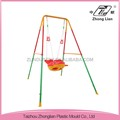 China made kindergarten body protection plastic patio swings indoor
