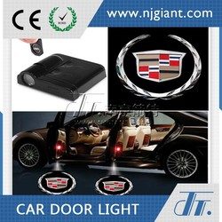 NJGIANT Wireless Full Color Led Car Door Logo Laser Projector Decorative Neon Light For Toyota