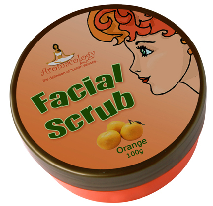 Facial Scrub Orange 100g