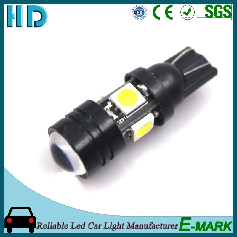 2016 High quality T10 WG 4SMD 5050 led car light 12v with tail lights on USA market
