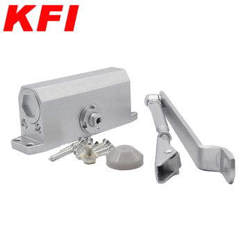 Aluminum alloy automatic hydraulic commercial remote control door closer