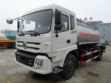Dongfeng 4x2 chemical tank truck for transporting HCl 0086 15826750255