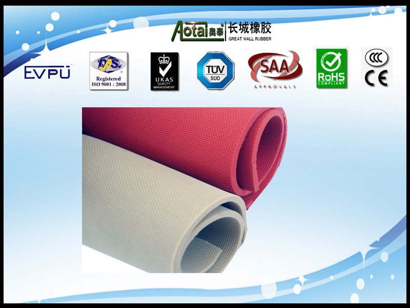 High tear resistance rubber sheet