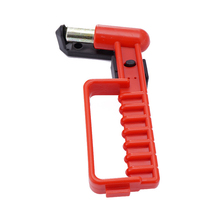 Multifunctional Anti-theft Car/Bus Safety Hammer with Automatic Shrink Steel Wire