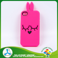 DIY silicone rubber phone case
