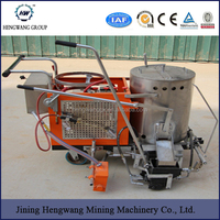 2.2kw 12Mpa China Cold Spraying Traffic Line Road paint Stripping Marking Machine for sales
