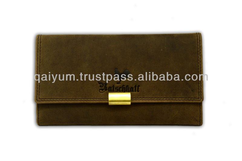 Genuine Leather Womens Purses