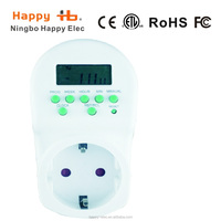 HG268 230VAC 50Hz indoor LED weekly digital timer switch